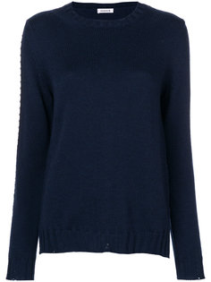 свитер с заклепками P.A.R.O.S.H.