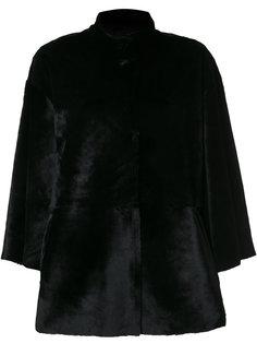 приталенная куртка с потайной застежкой на пуговицы  Desa Collection