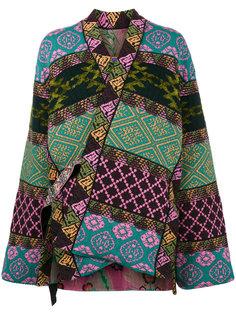 двусторонняя куртка в стиле пэчворк Etro