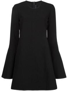 расклешенное платье с длинными рукавами  Ellery