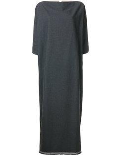 расклешенное платье макси  Daniela Gregis