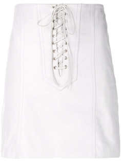 mini lace up skirt Manokhi