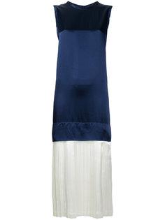 layered pleated dress Toga Pulla