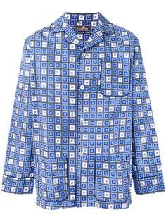 пижама с геометрическим узором из квадратов Otis Batterbee