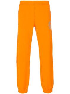 спортивные брюки с принтом-логотипом Gosha Rubchinskiy ГОША РУБЧИНСКИЙ