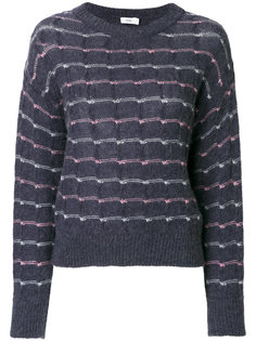 embroidered knitted top Closed