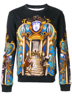толстовка с принтом Palace Versace