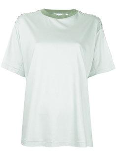 embellished shoulder T-shirt Toga Pulla