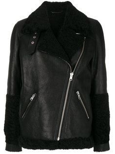 куртка с подкладкой из овчины  Federica Tosi