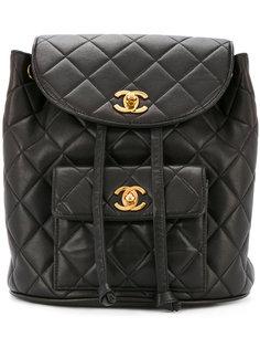 рюкзак с поворачивающимся замком Chanel Vintage