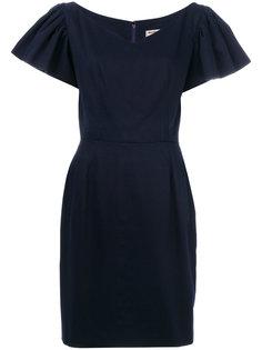 платье с оборками Yves Saint Laurent Vintage