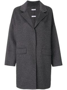 объемное однобортное пальто P.A.R.O.S.H.