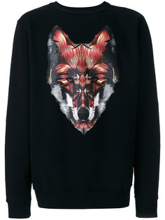 толстовка Silus Marcelo Burlon County Of Milan