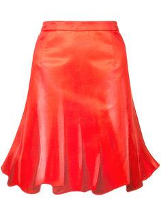 расклешенная плиссированная юбка Moschino