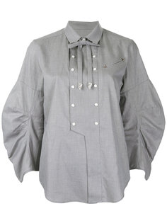 embellished bib shirt Toga Pulla
