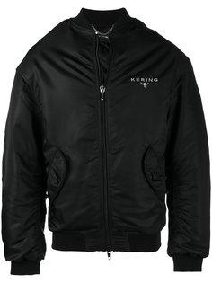 куртка-бомбер  с вышивкой Kering  Balenciaga