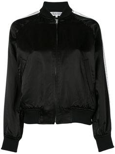 атласная куртка-бомбер  Comme Des Garçons