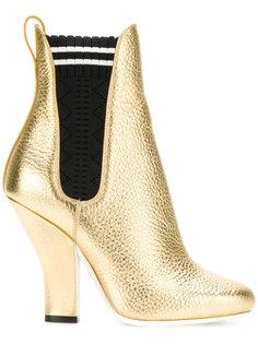 ботинки по щиколотку Fendi
