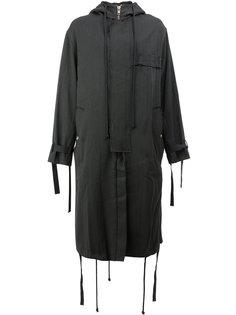 пальто с капюшоном Song For The Mute