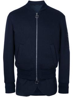 куртка-бомбер  с закругленным подолом Neil Barrett