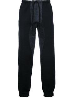 спортивные брюки с панельным дизайном Kolor