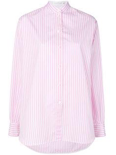 рубашка в полоску с воротником-стойкой Victoria Beckham