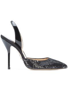 туфли-лодочки с пайетками  Paul Andrew