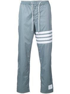 прямые брюки с полосами Thom Browne