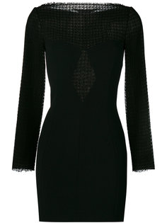 платье-мини с кружевными панелями Alexander Wang