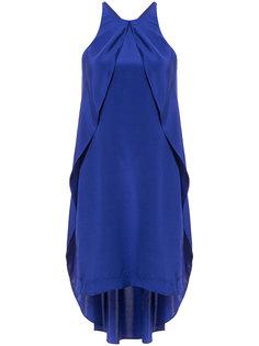 платье с вырезом-петлей халтер Nicole Miller