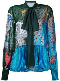 блузка Surreal Mary Katrantzou