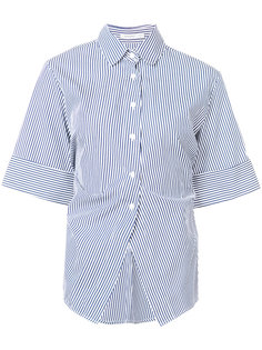 рубашка в полоску с широкими рукавами Protagonist