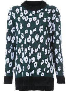 свитер с леопардовым принтом Proenza Schouler