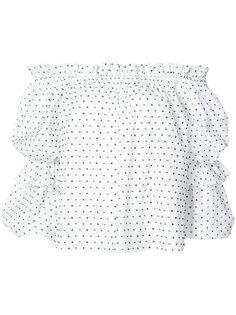 блузка в горох Caroline Constas