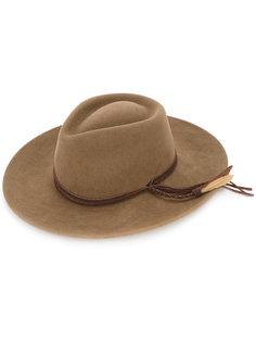 шляпа с плетеной лентой Sensi Studio