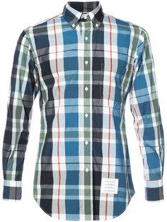 классическая рубашка в клетку Thom Browne