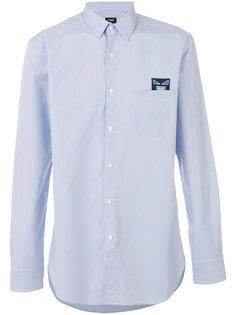 рубашка Bag Bugs с вышитой заплаткой Fendi