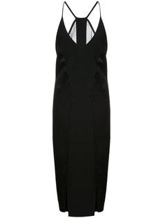 платье миди Halston Heritage