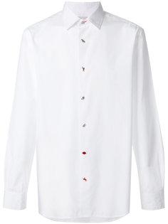 рубашка с декоративными пуговицами  Paul Smith