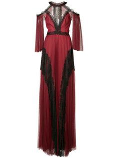 платье с открытыми плечами  Marchesa Notte