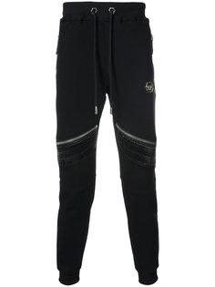 спортивные брюки с молниями Philipp Plein