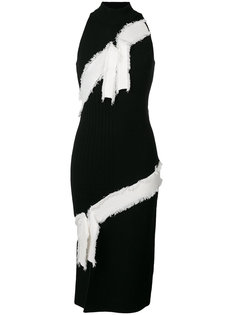 платье-халтер в рубчик  Jonathan Simkhai