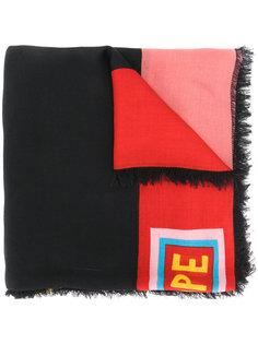шарф с принтом Fendi