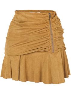 юбка со сборками Veronica Beard