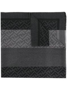 монограммный шарф Fendi