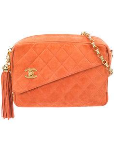 стеганая прямоугольная сумка через плечо Chanel Vintage