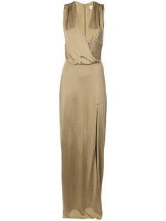 вечернее платье с V-образным вырезом Cushnie Et Ochs
