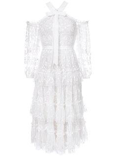 кружевное платье Needle & Thread