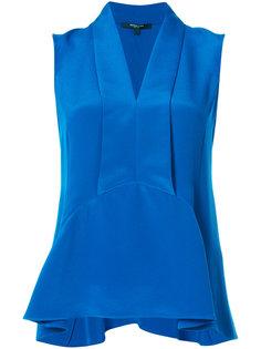 расклешенная блузка без рукавов  Derek Lam