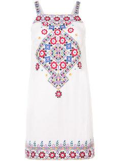 платье с цветочным узором Nicole Miller